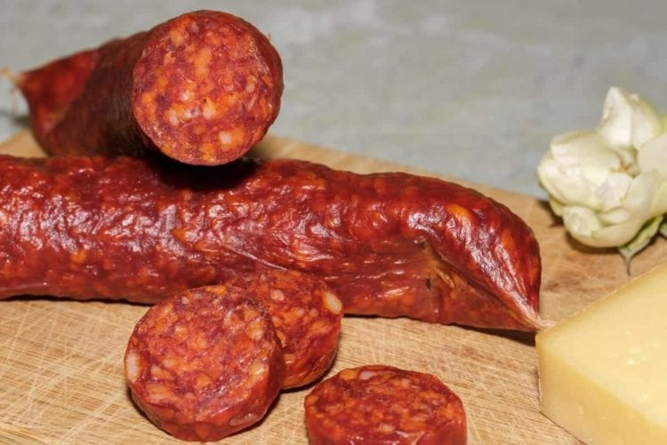Freeze Chorizo Slices